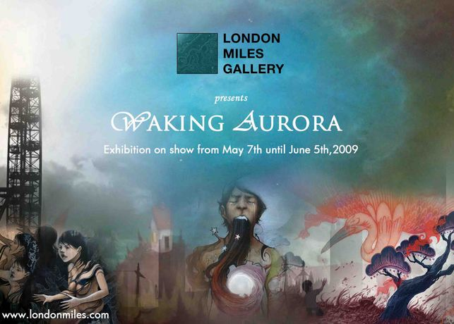 Waking Aurora: a four person show featuring a collection of beautiful and mystical artworks.: Image 0