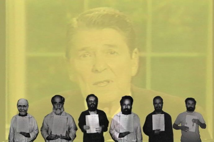 Walid Raad. Hostage: The Bachar tapes (English version). 2001. Video (color, sound), 16:17 min. The Museum of Modern Art, New York. Gift of the Jerome Foundation in honor of its founder, Jerome Hill. © 2015 Walid Raad