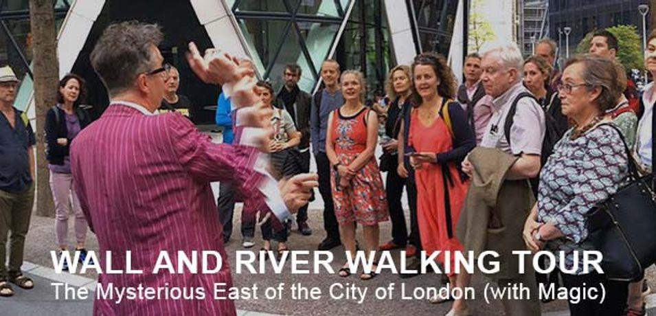 Walking Tour - The Mysterious East of the City of London (with magic): Image 0