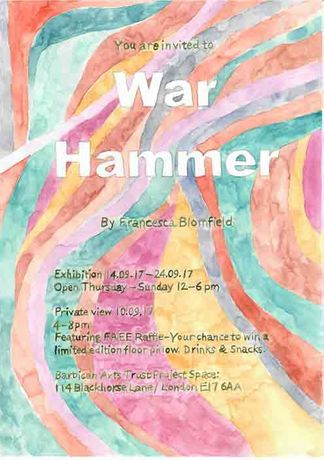 War Hammer - © Francesca Blomfield