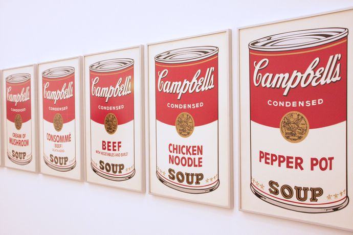'Campbell's Soup', by Andy Warhol, Licensed by Dreamtime