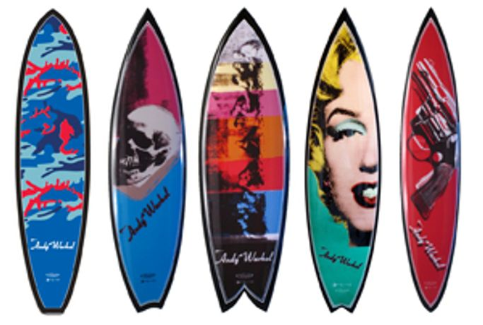 'Warhol Surf' by Tim Bessell: Image 0