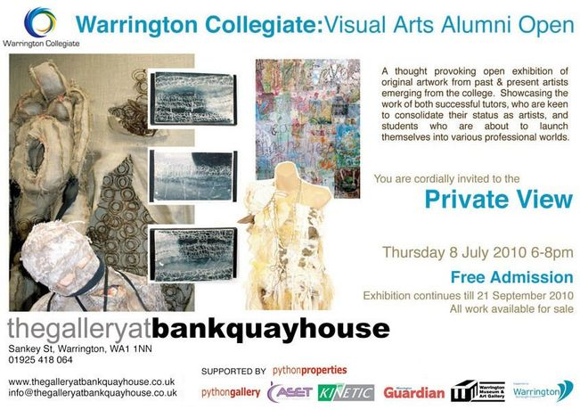 Warrington Collegiate: Visual Arts Alumni Exhibition: Image 0