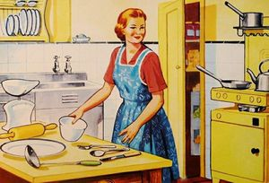 Washing the Nappies: Working in the Post-War Suburban Kitchen