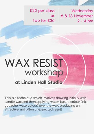 Wax resist workshop - 1: Image 0