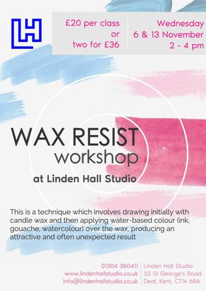Wax resist workshop - 2