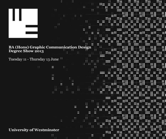 We Are Designers - University of Westminster Graphic Communication Design Degree Show: Image 0