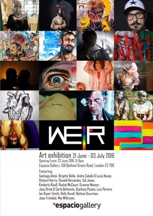 We R exhibition - Exploring the meaning of LGBT identity and celebrating difference. Opening event June 22 6-9pm