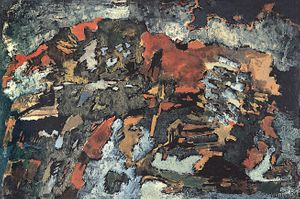 Louis Van Lint, Geologische doorsnede, 1958, Collection S.M.A.K.