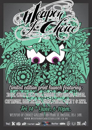 Weapon of Choice Print Launch