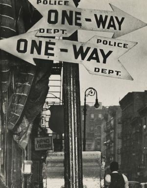 Weegee, Rivington & Attorney Streets, Lower East Side, 1940s