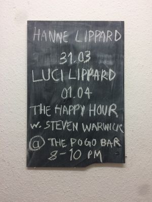 Weekend #8 Hanne Lippard