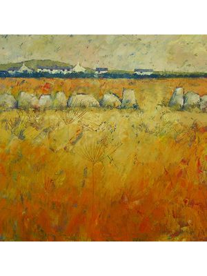 Moorland Farm by John Piper, oil on canvas, 36 x 36