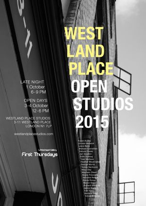Westland Place Open Studios 2015 - Late Night