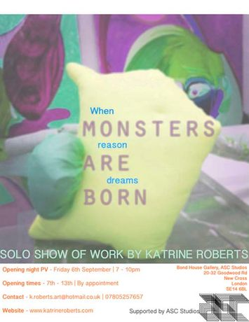 When Reason Dreams Monsters Are Born | Katrine Roberts: Image 0