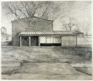 George Shaw	Black Prince	Graphite on paper, 1997 Purchased through the Contemporary Art Society Special Collection Scheme with Lottery funding from Arts Council England