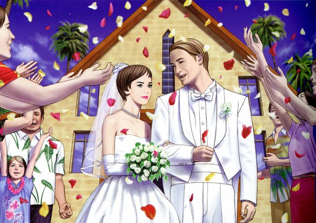 The White Wedding #2 - Flowers Of Carnage