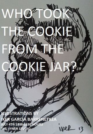 Who took the cookie from the cookie jar?: Image 0