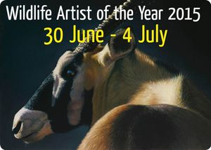 Wildlife Artist of the Year 2015