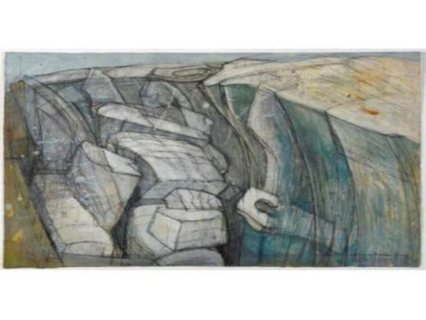 Wilhelmina Barns-Graham: Sea, Rock, Earth and Ice: Image 0
