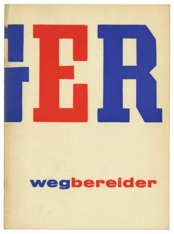 Léger the Pioneer [léger wegbereider], exhibition catalogue, 1957