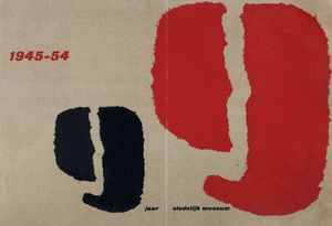 9 years Stedelijk Museum 1945-54], exhibition catalogue. CourtesyStedelijk Museum, Amsterdam