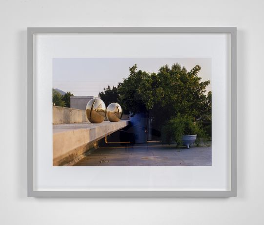 William E. Jones, Villa Iolas (Lucio Fontana), 1982/2017, Hand coated ink jet print