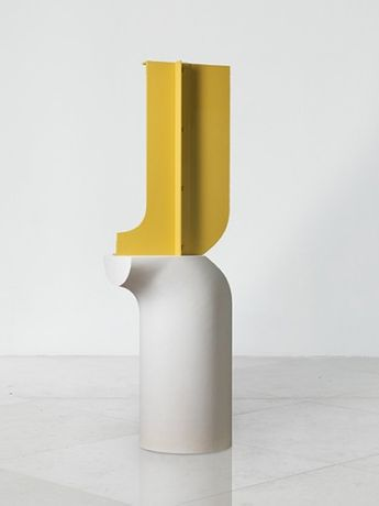 Subject & Shadow, 1962-2017, Aluminium & Fibreglass, Edition of 3, 207 x 65 x 51 cm