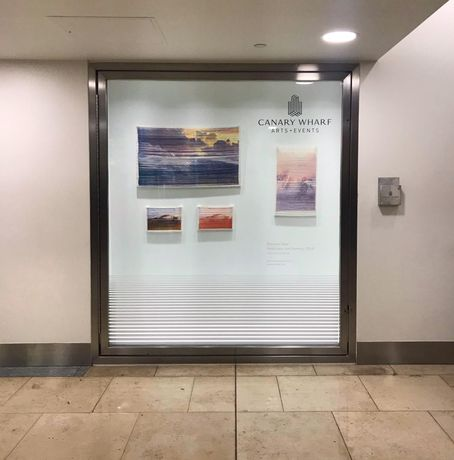 Window Gallery in Canary Wharf Shopping Centre
