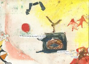 Collage Poem by Jude Cowan Montague