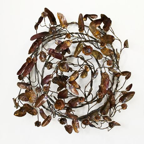 Lynn Mahoney 'Wall Vine' copper