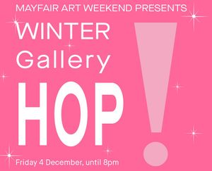 Winter Gallery HOP!