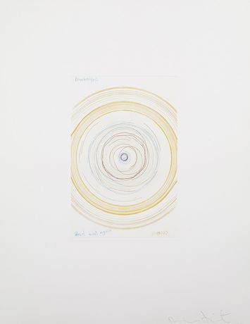 Damien Hirst Wheel meet again, 2002 In a Spin, the Action of the World on Things Volume I Etching