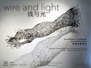 Wire and Light: An Exhibition of Sculptures by KeySook Geum