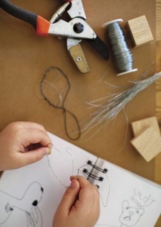 Wire Sculptures: Family Workshop: Image 0