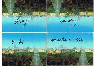 Ruth Proctor 'always wanting to be somewhere else', 2012