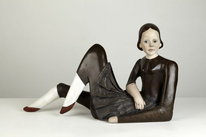 Reclining Doll (Cathie Pilkington, 2013)