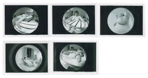 Jo SPENCE  Fat Project, 1978 - 1979 Collaboration with Terry Dennett Set of 5 black and white vintage photographs 12.5 x 17. 8 cm each