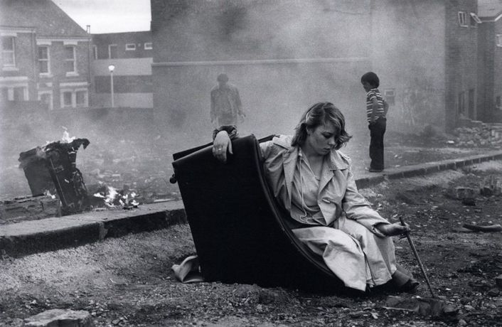 'Youth Unemployment' by Tish Murtha © Ella Murtha, All rights reserved.