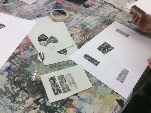 Wood Engraving Workshop at The Doodle Bar: Image 3