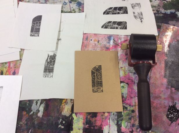 Wood Engraving Workshop at The Doodle Bar: Image 4