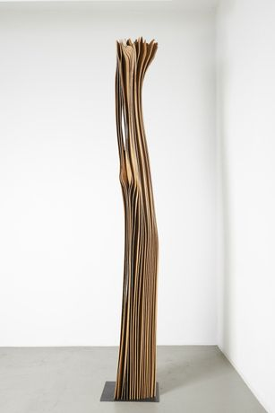 GOLSER, herbert_untitled, 2013, pear wood, 38x30x300cm
