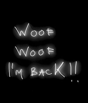 WOOF WOOF I'M BACK!! by Franko B