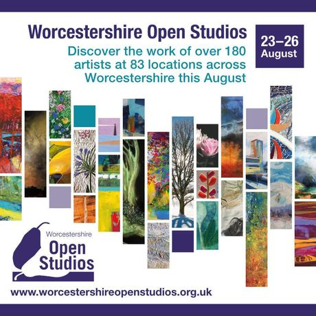 Worcestershire Open Studios 2019 promo image