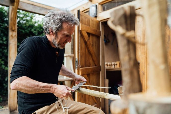 Worcester woodworker Tom Greenway | Photo Lewis Membery
