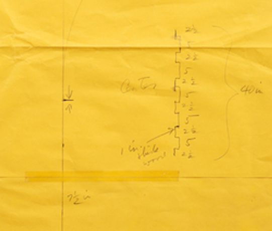 Working Papers: Donald Judd Drawings, 1963 - 93: Image 0