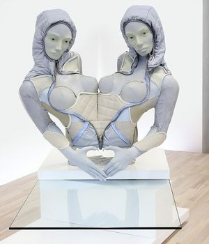 Anna Uddenberg, BFF Twin Torso, 2015. Courtesy the artist, Zabludowicz Collection, and Kraupa-Tuskany Zeidler, Berlin. Photo Gunter Lepkowski
