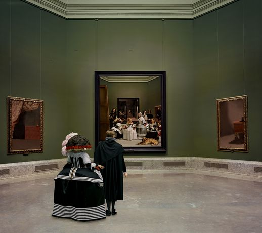 Yasumasa Morimura, Las Meninas Renacen de Noche, Kingdom's painting, painting's kingdom © Yasumasa Morimura; Courtesy of the artist and Luhring Augustine, New York