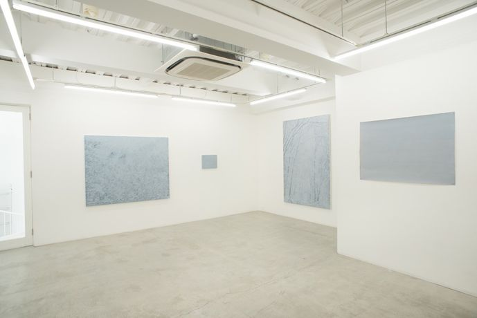 "Yasue Kodama ""Deep Rhyme – whiteout"" Installation view"