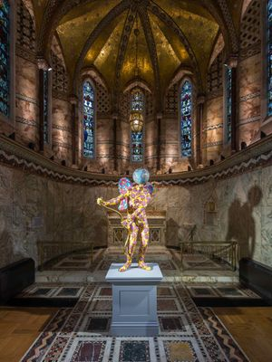 Yinka Shonibare MBE at the Fitzrovia Chapel